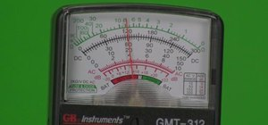 Repair home appliances with the use of a voltmeter