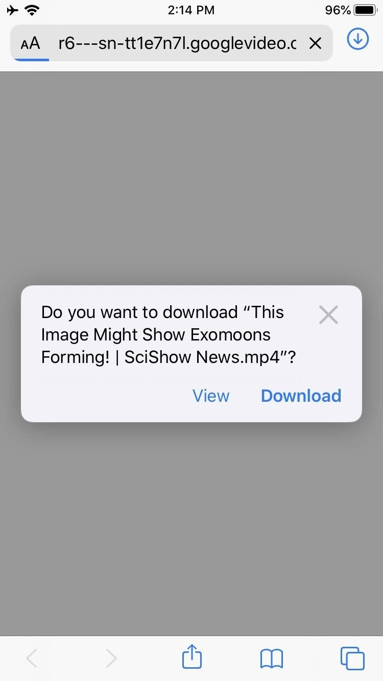 How to Use Safari's New Downloads Manager in iOS 13