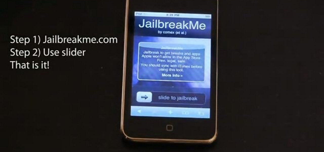 How to Jailbreak your iPhone or iPod Touch by going to