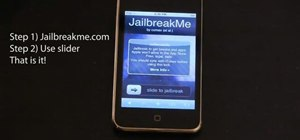 Jailbreak your iPhone or iPod Touch by going to JailbreakMe.com