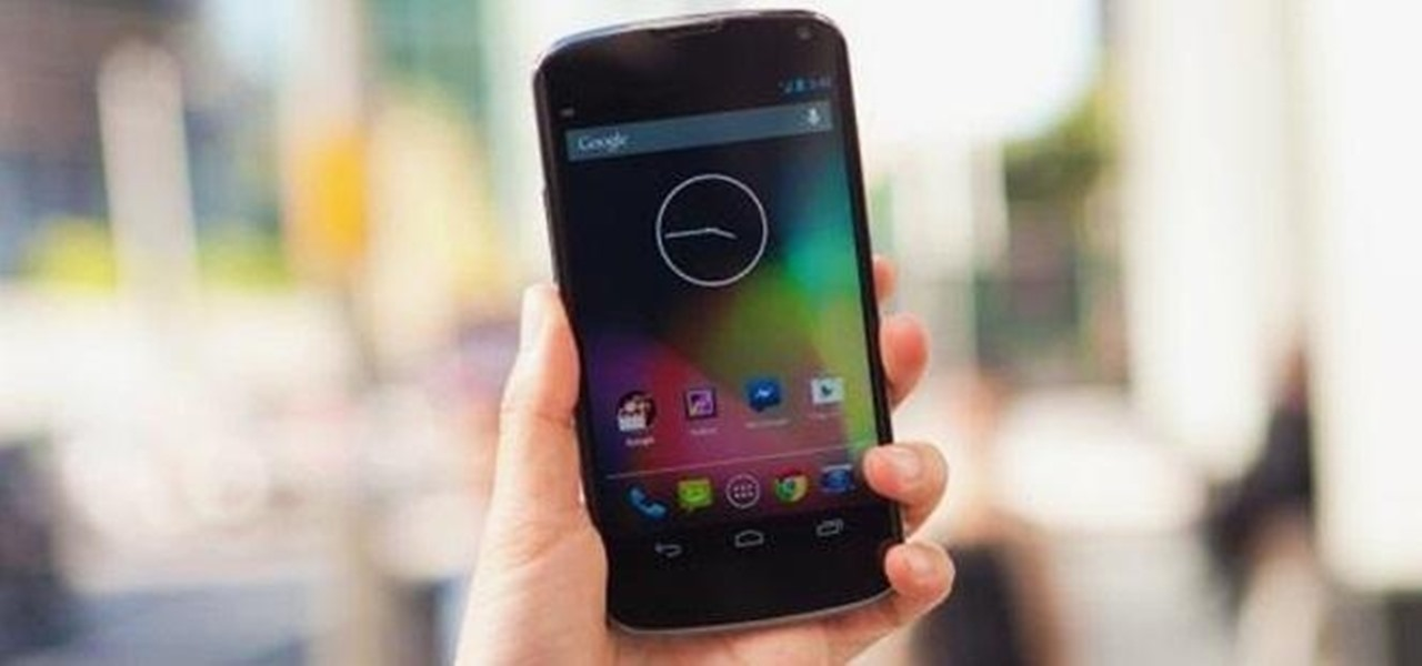 Increase Touch Responsiveness on Your Rooted Google Nexus 4