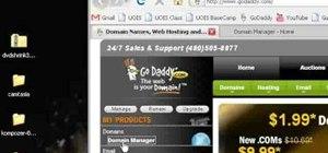 Forward a domain with GoDaddy.com