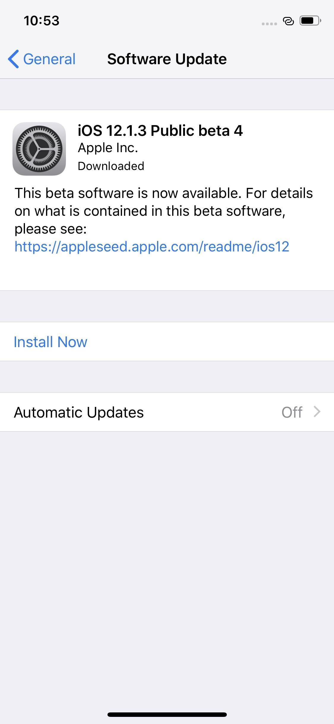 Apple's iOS 12.1.3 Public Beta 4 Available for iPhone