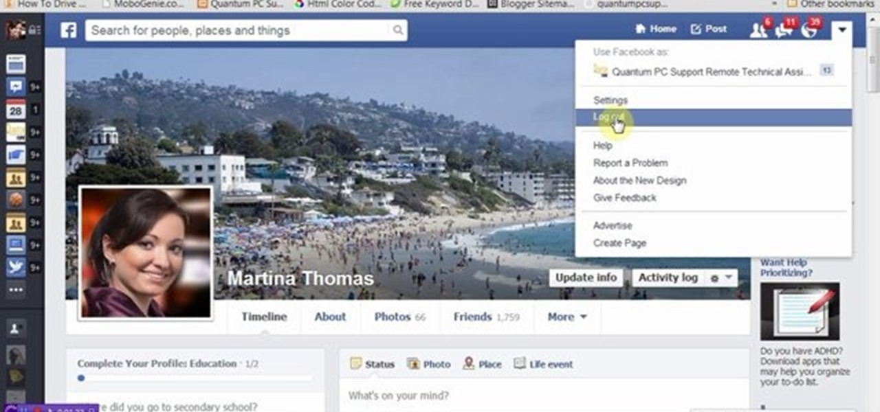 Hide Facebook Friends Information and List from Others