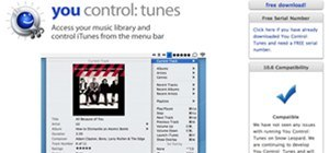 "Great Menubar App to Control iTunes: ""You Control: Tunes"""