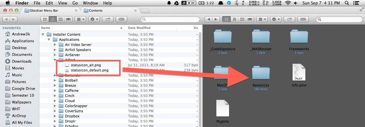 Get Yosemite's Dark Mode Menu Bar in Mac OS X Mavericks