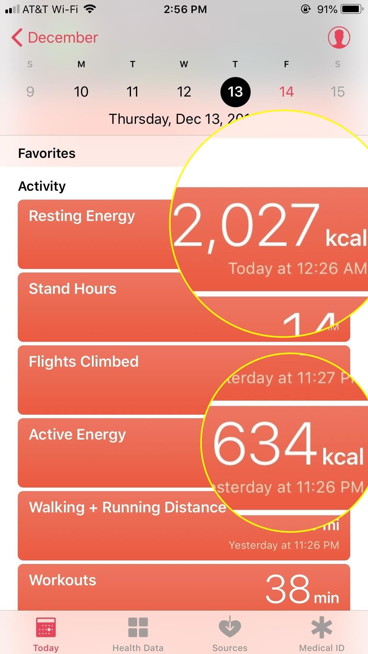 How to Figure Out Your Total Calorie Burn in Apple's Health App