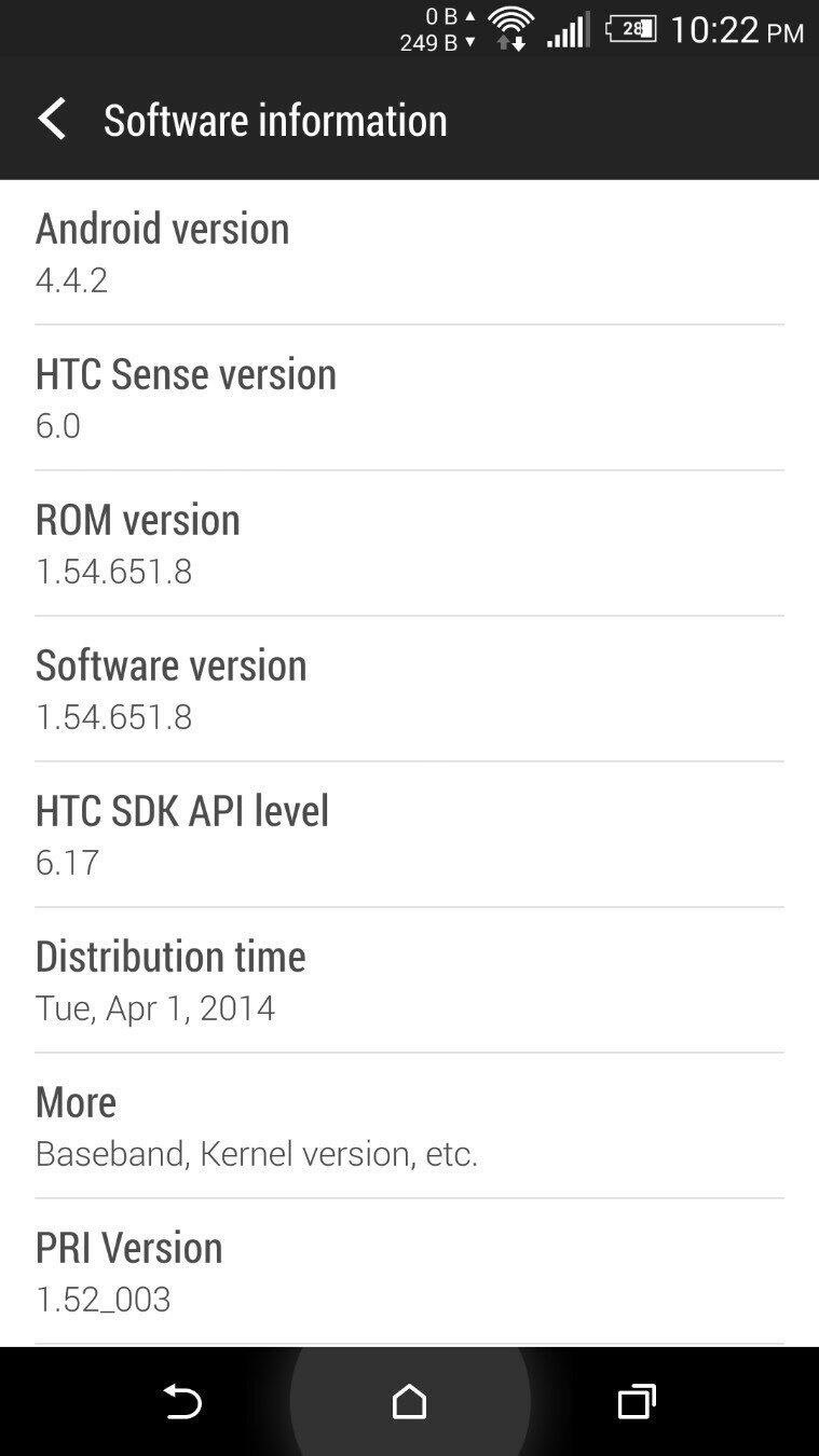 Sprint HTC One M8 Receives First Update—Your Battery Life Will Thank You