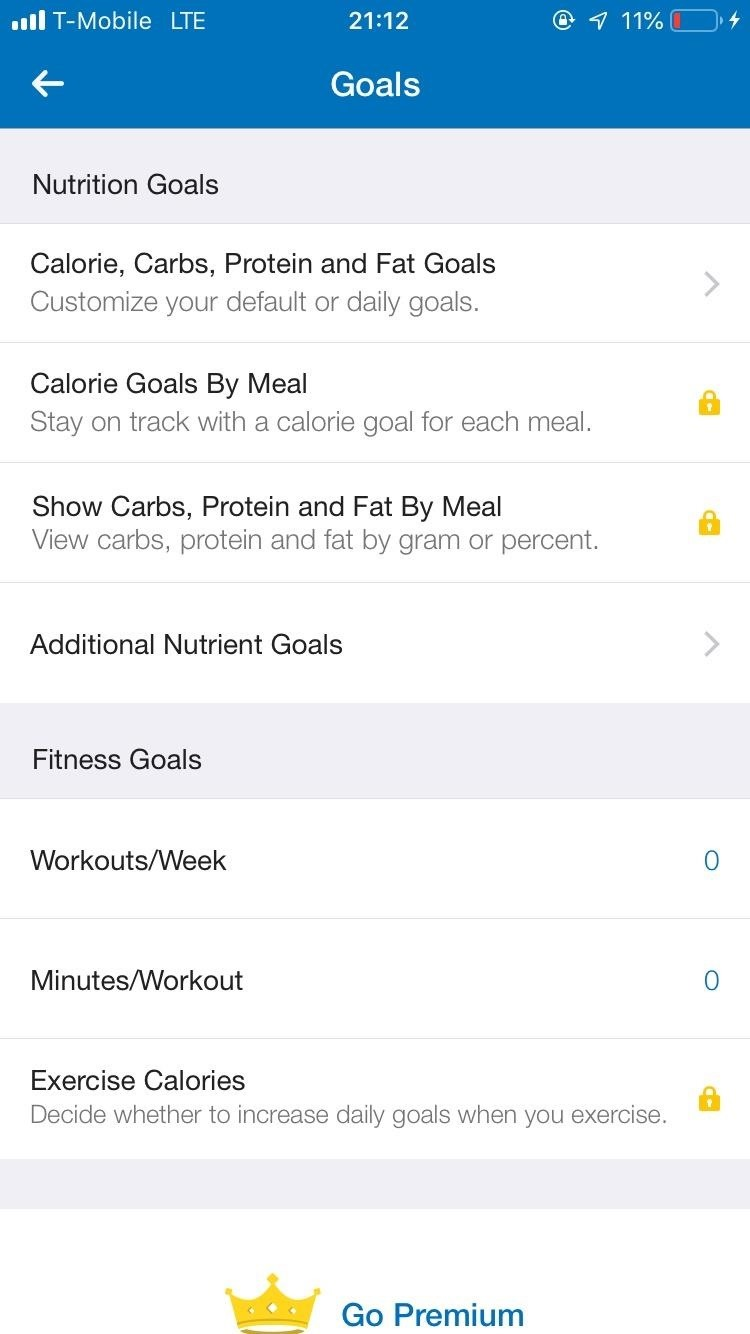 How to Customize Your Weekly & Daily Goals in MyFitnessPal