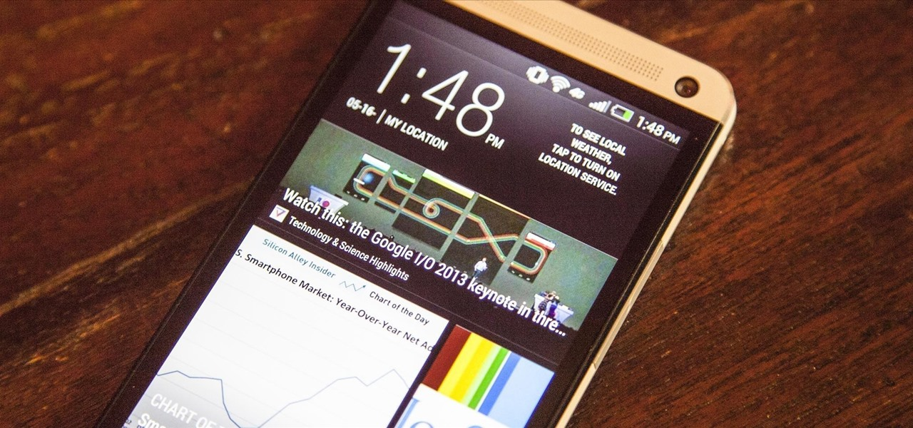 Remove Blinkfeed from Your HTC One for a Stock Feel Without Rooting