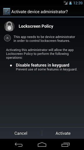 How to Disable Widgets and Camera Access on the Lockscreen in Android Jelly Bean 4.2