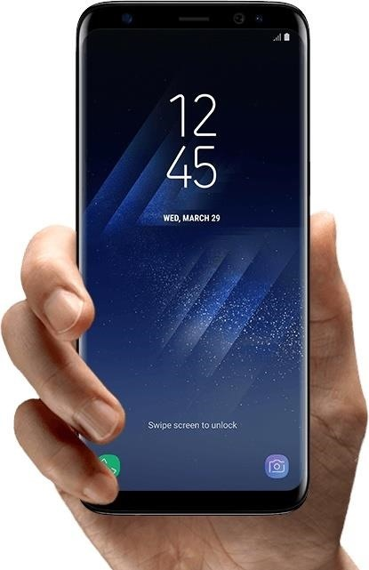 Samsung Galaxy S8 & S8+ with Infinity Display, Iris ...