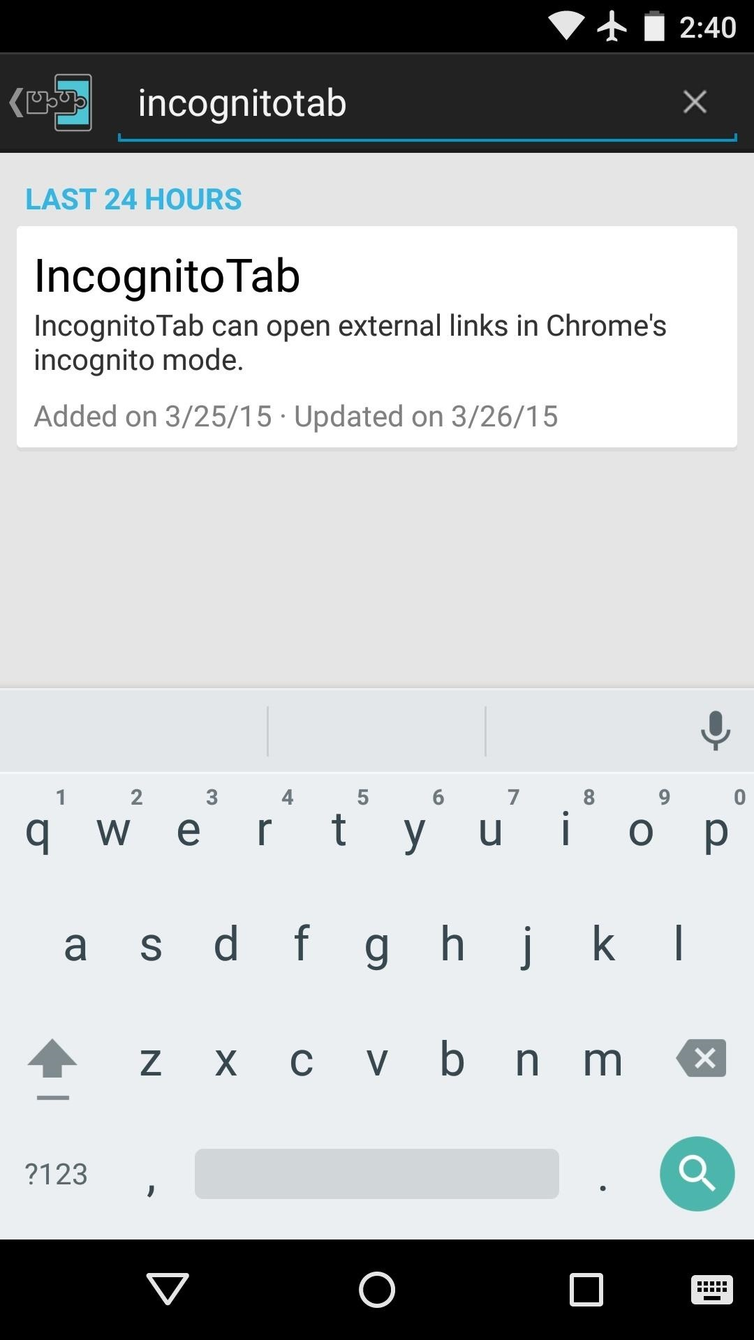 How to Open Links Directly into Chrome's Incognito Mode on Android