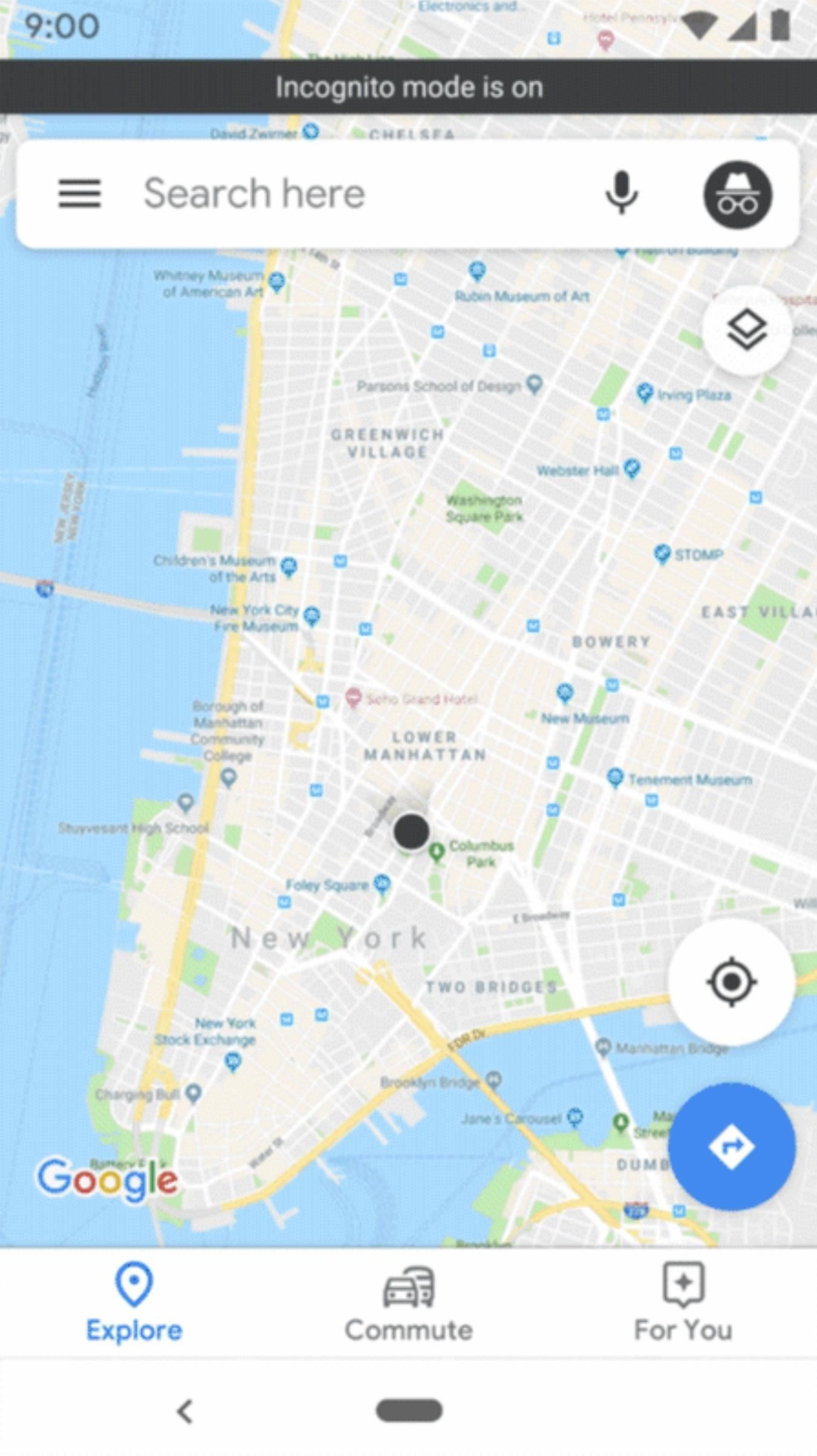 Coming Soon: Use Incognito Mode in Google Maps to Keep Your Location Searches & Navigation Totally Private