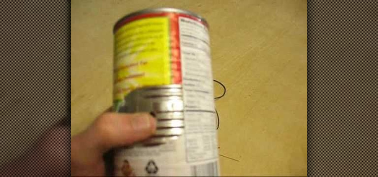 How To Build A High Gain Wifi Antenna Out Of A Soup Can