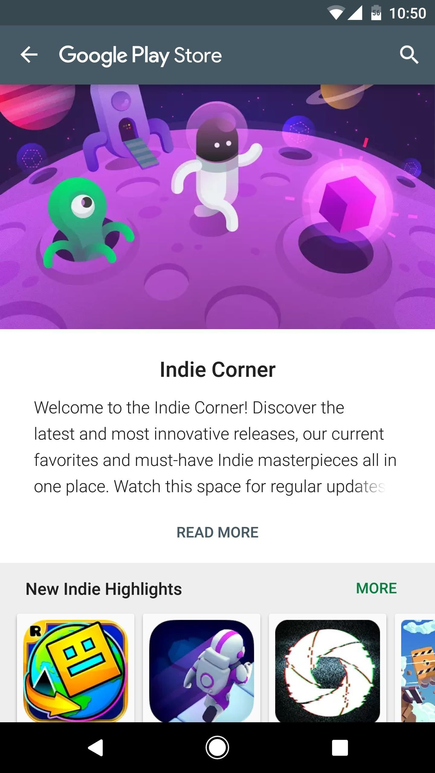 Unlock the Hidden 'Indie Corner' Category on Google Play to Find Great Indie Games