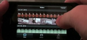 How to Use iMovie to edit videos on the iPhone « Smartphones
