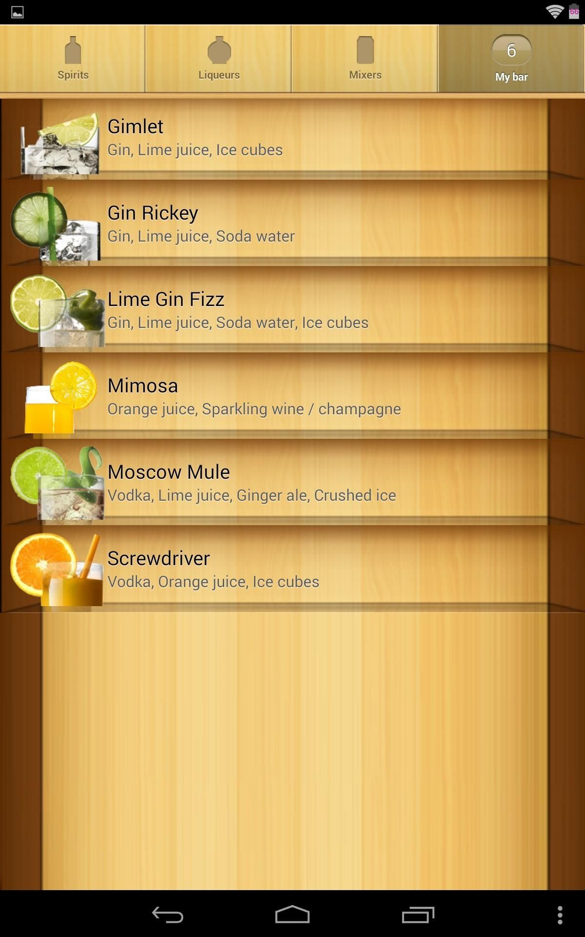 How to Turn Your Nexus 7 into a Personal Mixologist to Class Up Your Home Bar