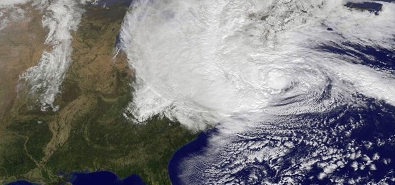 Track the Super Storm Hurricane Sandy Live