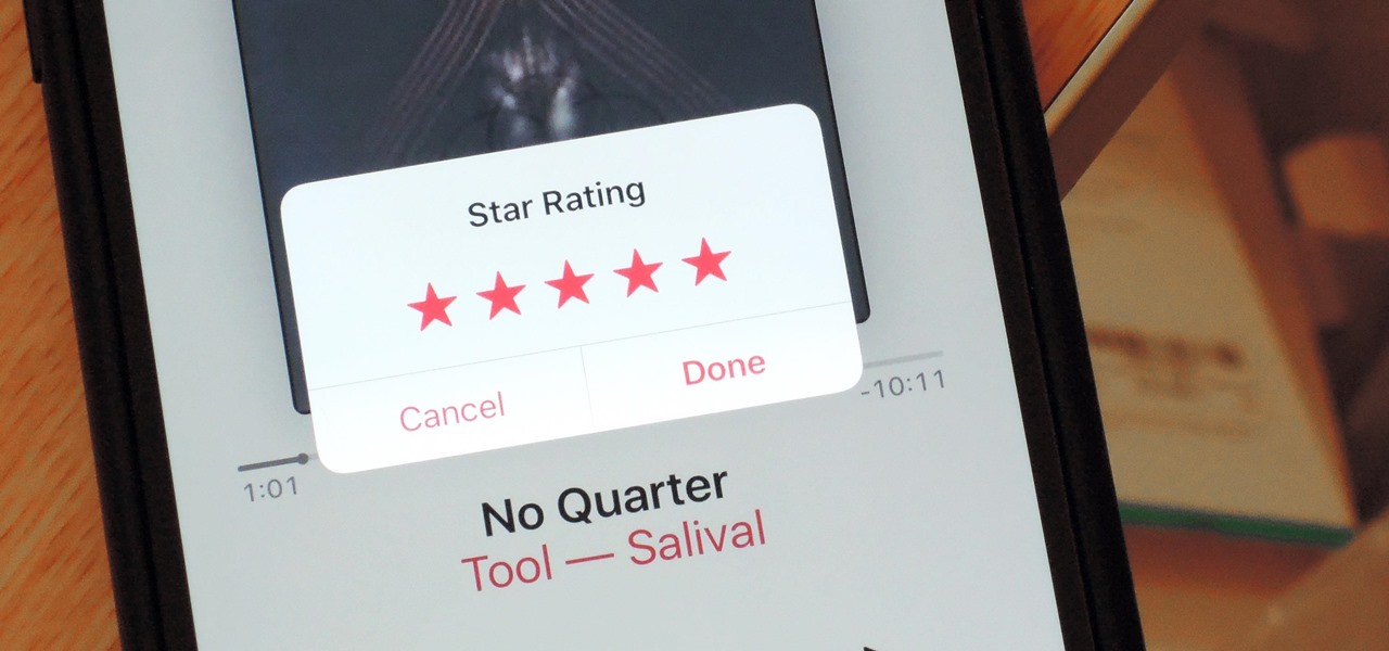 iOS 10.2 Update for iPhone Snuck Star Ratings Back into the Music App