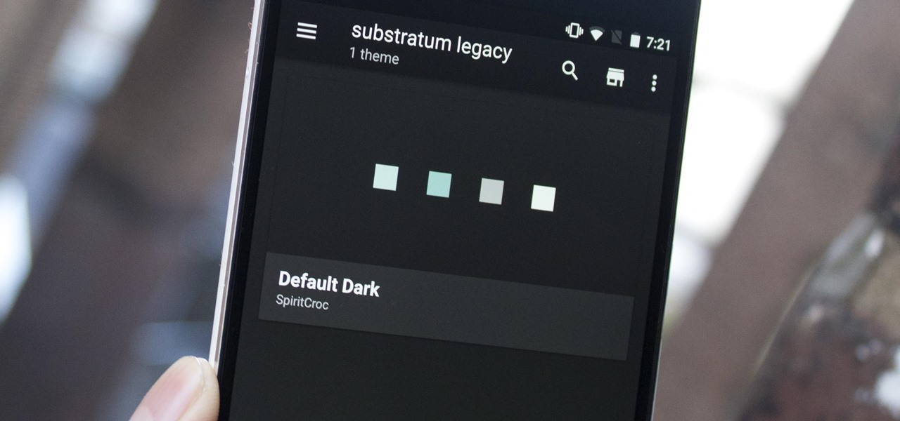 Use Substratum to Completely Theme Your Android Marshmallow
