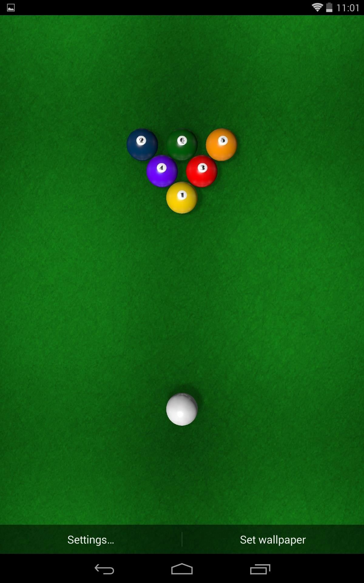 Boredom Killer: How to Play a Game of Pool Directly on Your Android Home Screen