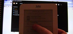Copy a downloaded eBook to a Kobo Wireless eReader