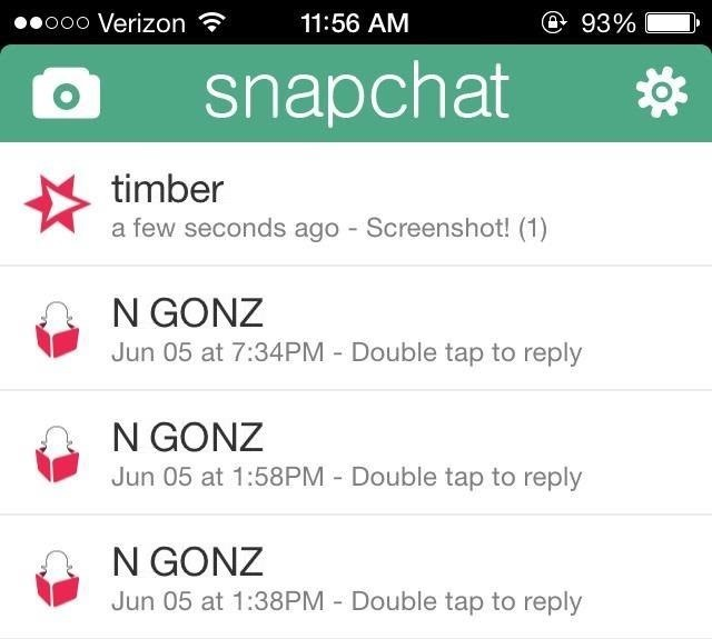 How to Take Secret Screenshots of Snapchat Pictures in iOS 7 Without Notifying the Sender