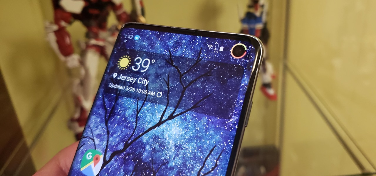 Turn Your Galaxy S10's Camera Cutout into a Battery Indicator