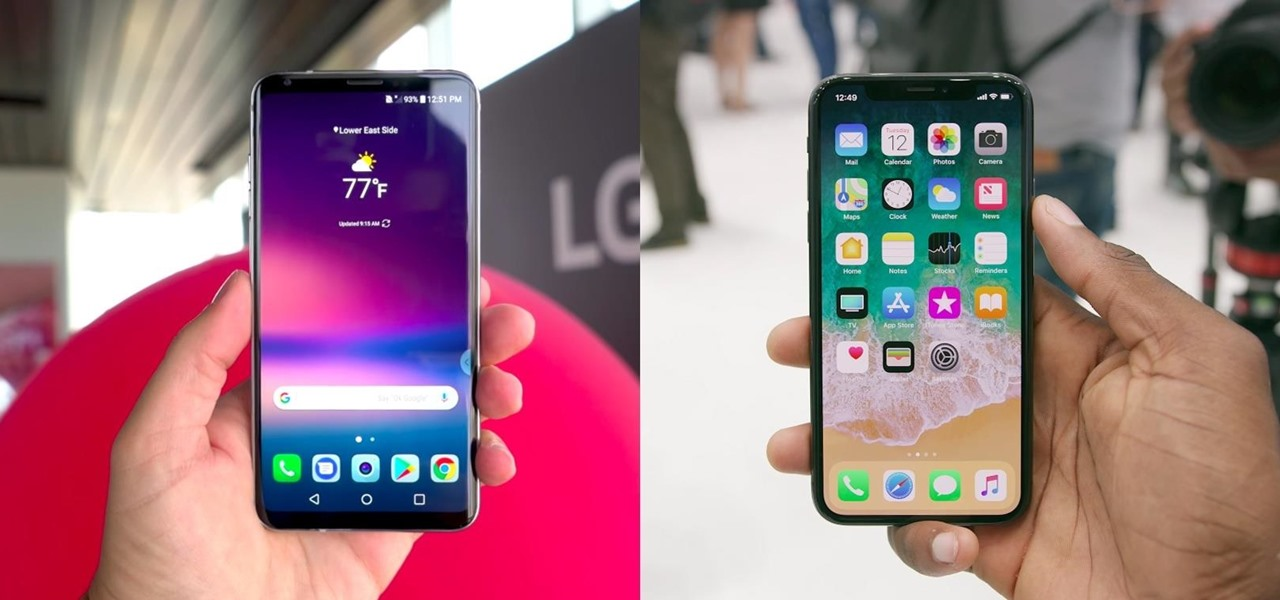 How Does the iPhone X Compare to the LG V30?