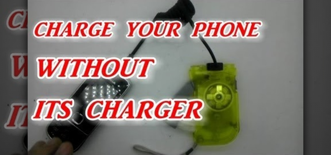 Charge Your Phone Without Its Charger