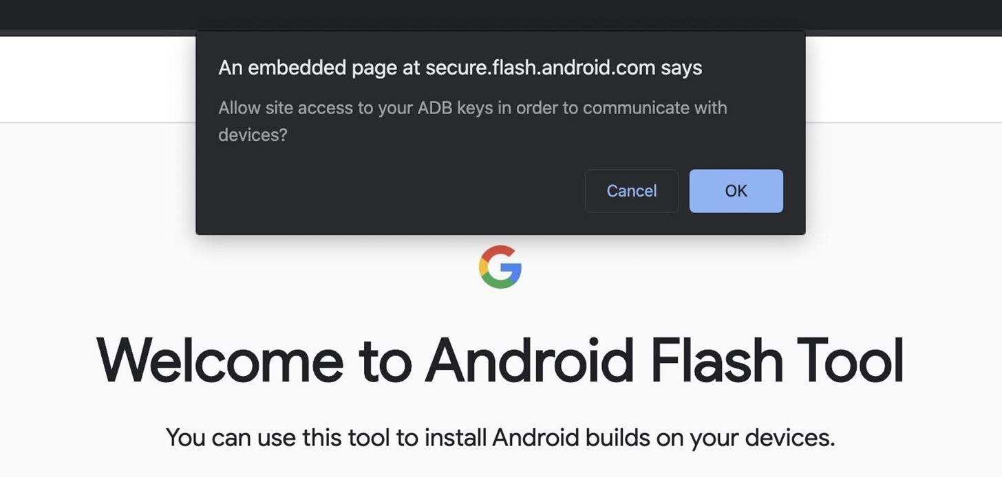 How to Use Google's Android Flash Tool to Manually Update Your Phone or Recover from a Soft Brick