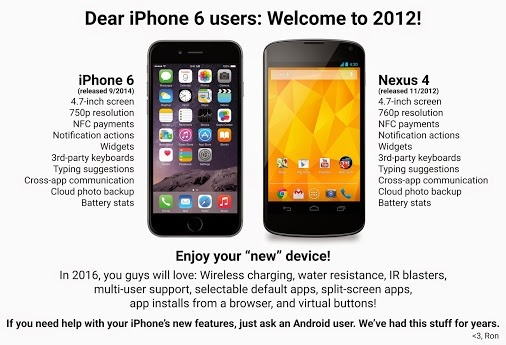 iPhone 6 Tempting You to Switch? Here's What You'll Miss from Android