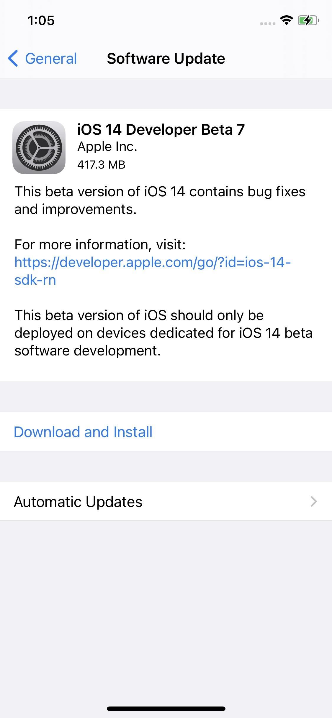 Apple Releases Ios 14 Developer Beta 7 For Iphone Includes New Wallpaper Options Ios Iphone Gadget Hacks We Bra