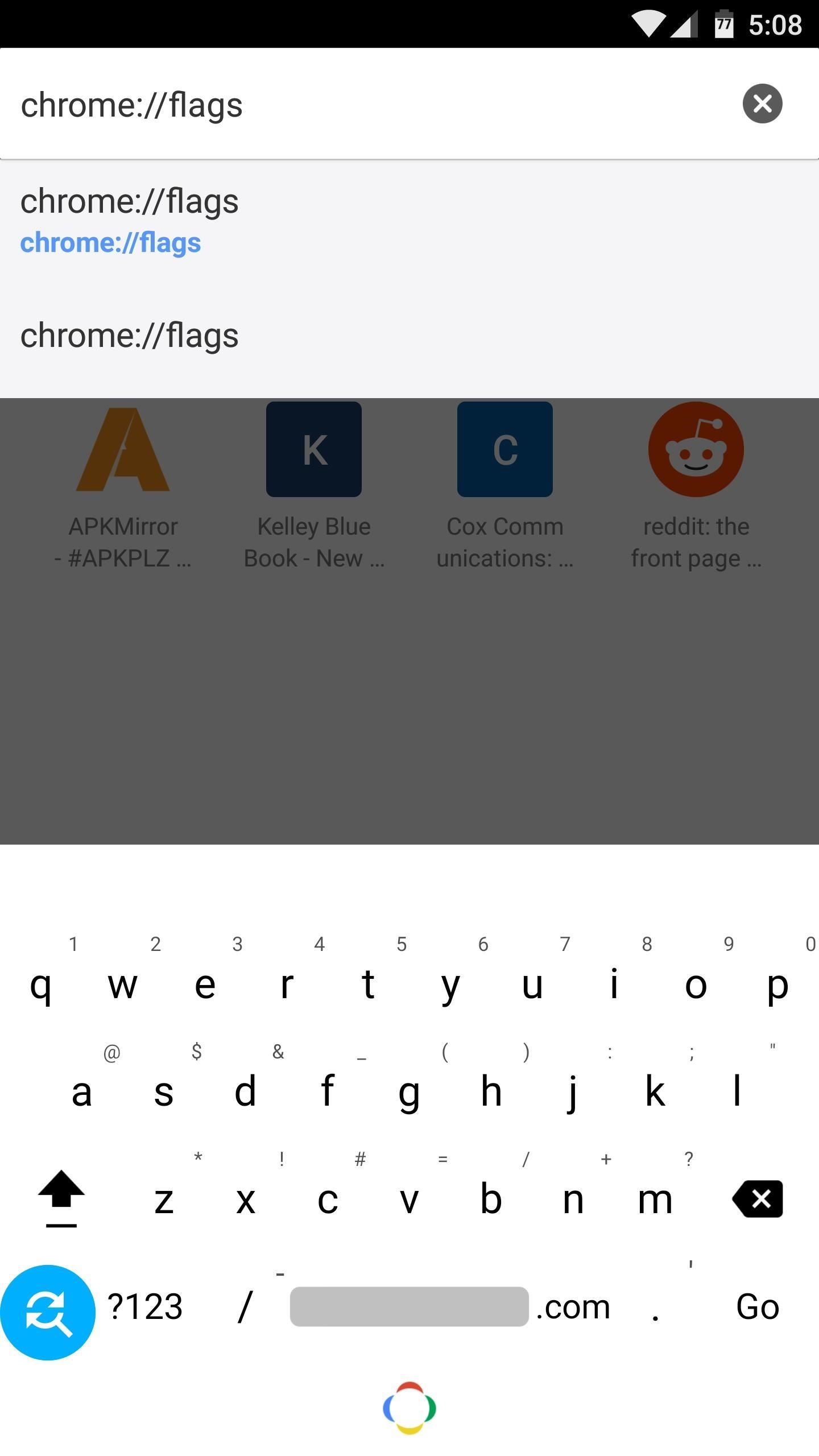 Use Chrome Flags to Prevent Page Load Jumps