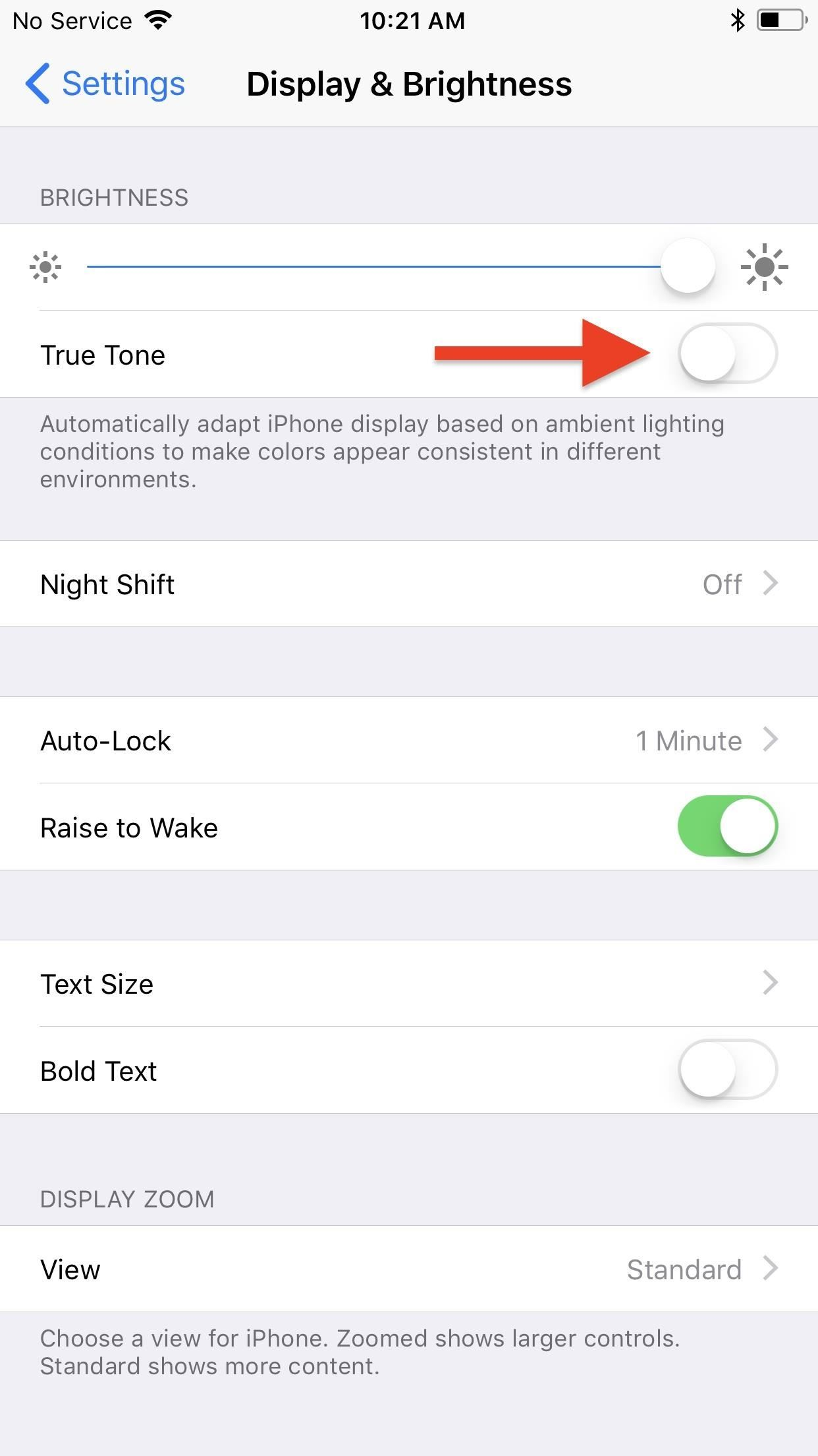 How to Disable the True Tone Display on Your iPhone 8, iPhone 8 Plus, or iPhone X
