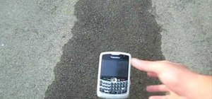 Save a cell phone after dropping it in water
