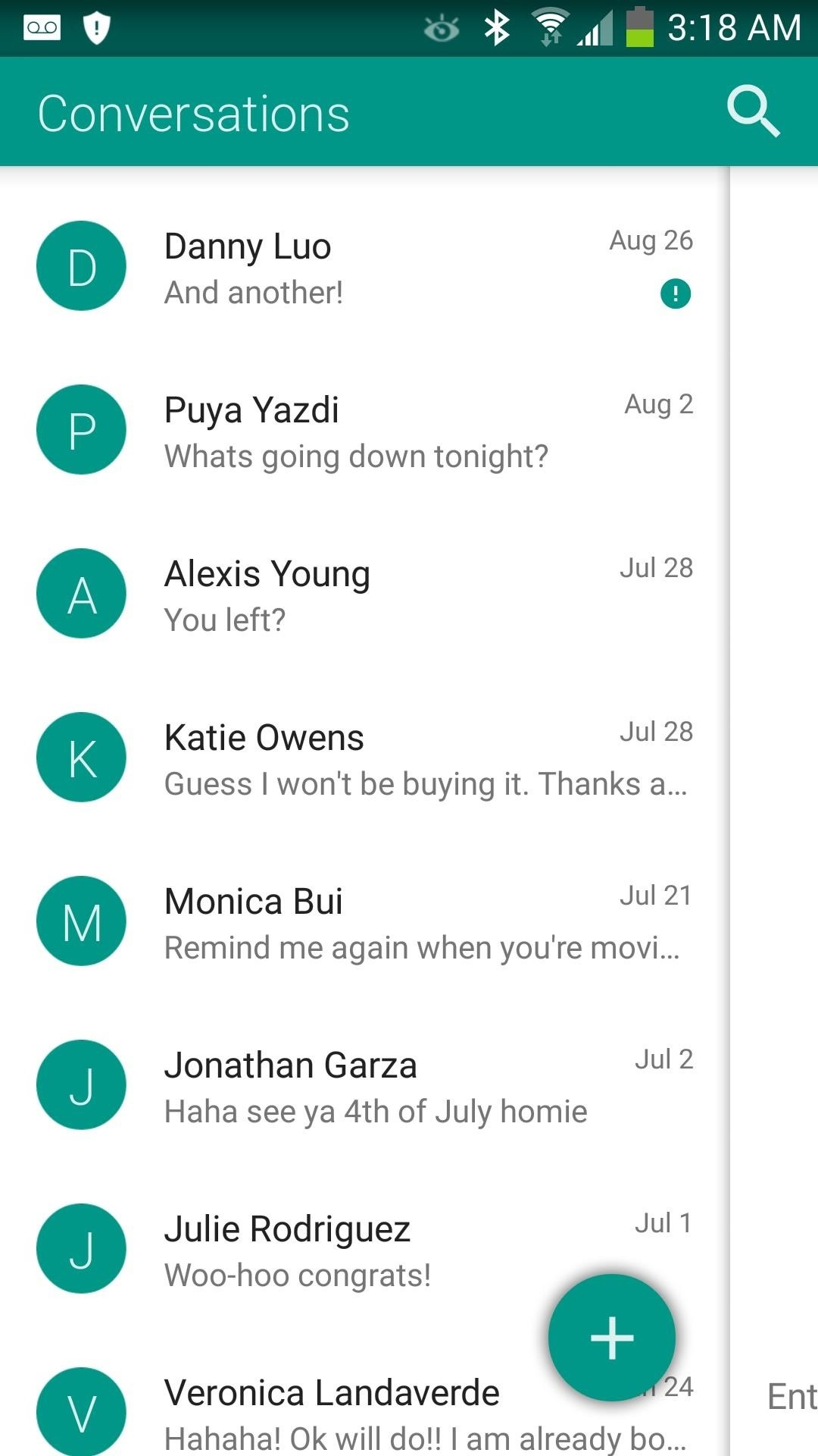 Get a Taste of Android L's Material Design with QKSMS Messaging