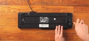 Hack a USB keyboard into a Google Reader pedal