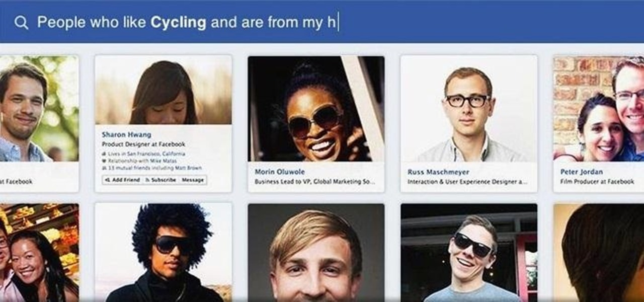 Is Facebook's New Graph Search Creepy or Cool?