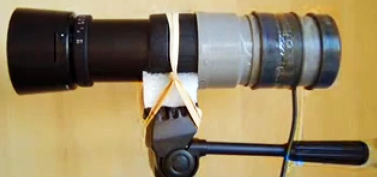 Веб камера и телескоп своими руками 72