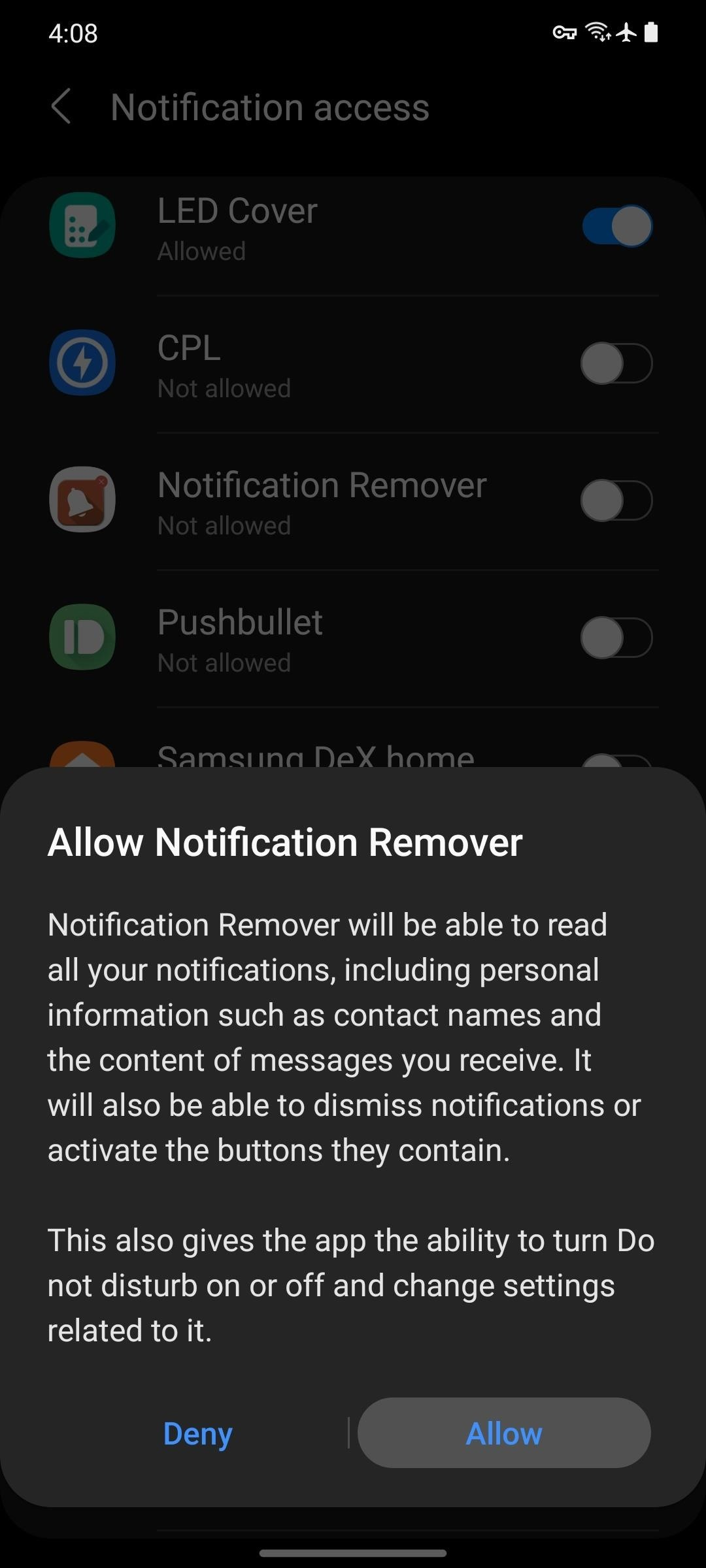 How to Automatically Clear Nagging System Notifications on Android