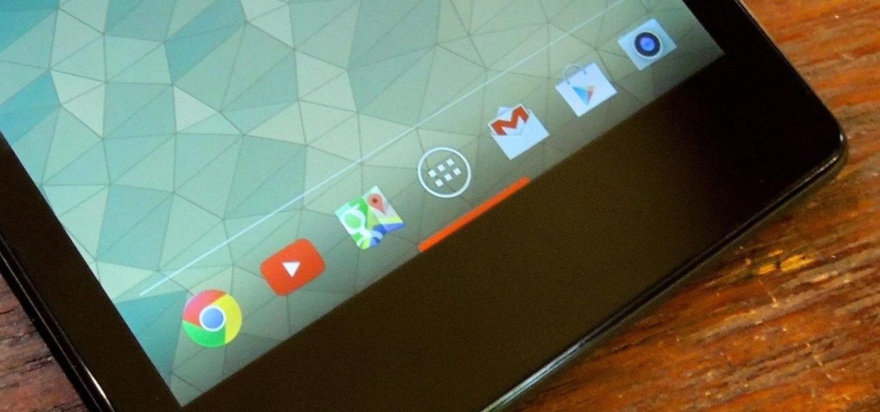 Hide Your Nexus 7's Soft Keys to Maximize Usable Screen Space