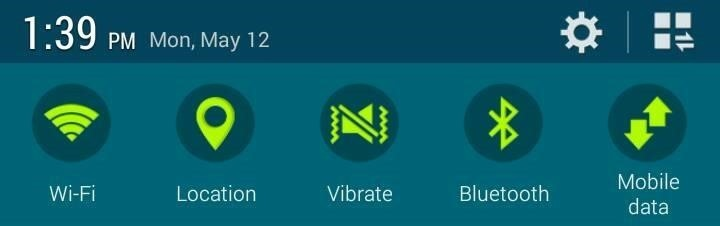 How to Get the Galaxy S5's New Recent Apps Menu & Toggles on Your Galaxy S3 (KitKat)