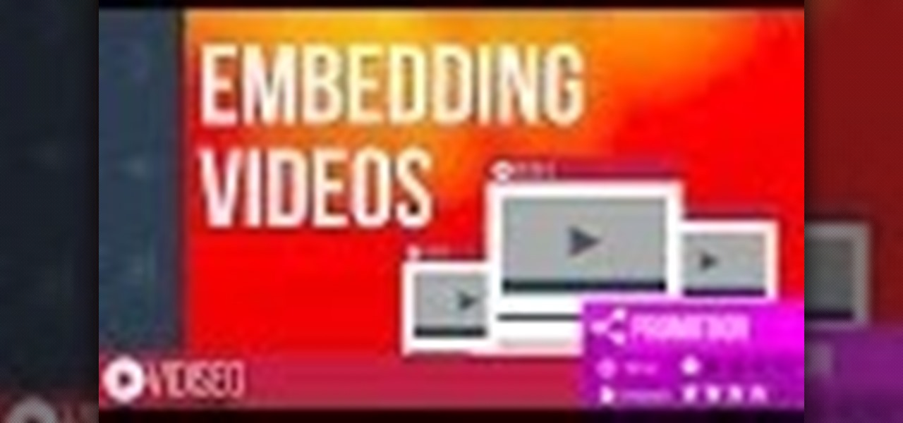 Embed & Customize a YouTube Video for Your Website