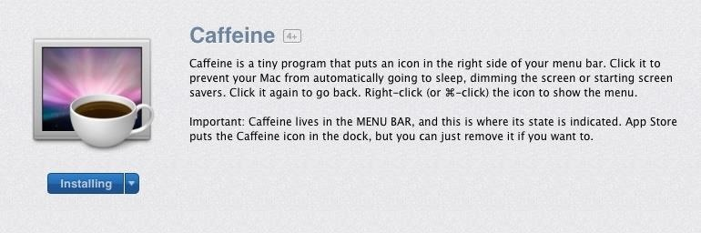 Temporarily Override Your Mac's Sleep & Screen Saver Settings from the Menu Bar