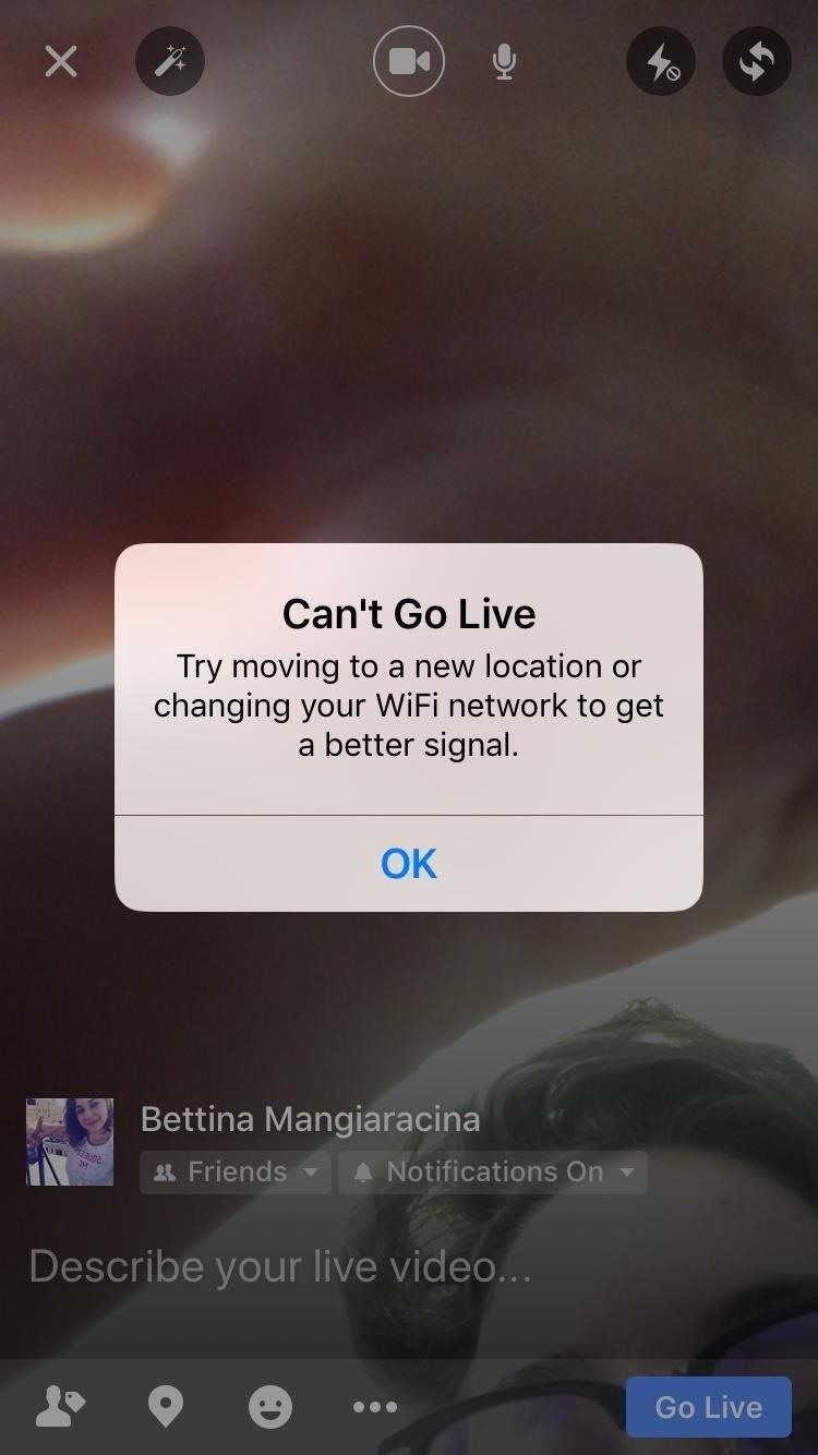 Facebook 101: How to 'Go Live' from Your iPhone or Android Phone