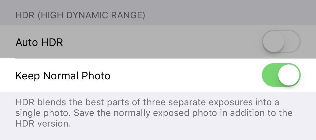 How to Get Back the Camera's Missing HDR Button on Your iPhone 8 or 8 Plus