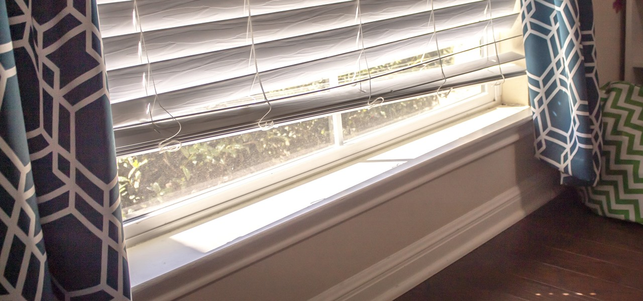 This Trick Makes It So Much Easier to Lower Your Blinds All the Way