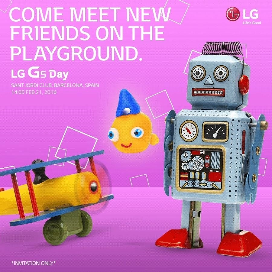 LG G5 to Be Unveiled at Mobile World Congress, Stealing Samsung's Thunder